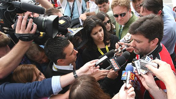Tony Stewart and Media