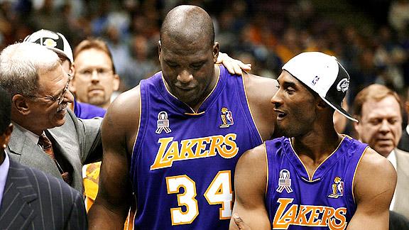 Kobe/Shaq/Phil