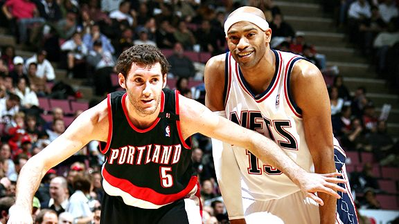 Rudy Fernandez, Vince Carter