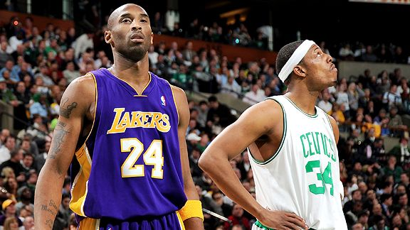 Kobe Bryant & Paul Pierce