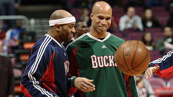 Vince Carter and Richard Jefferson
