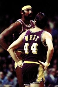 Jerry West & Wilt Chamberlain