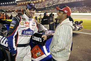 Jimmie Johnson, and Juan Pablo Montoya