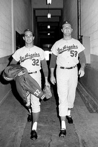 Sandy Koufax and Don Drysdale