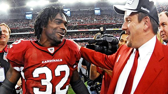 Edgerrin James and Michael Bidwill
