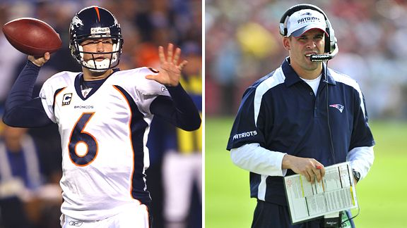 Jay Cutler and Josh McDaniels