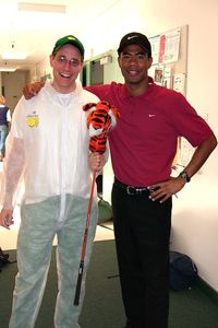 Tiger Woods Impersonator