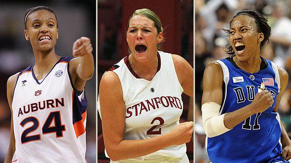 Auburn, Duke, Stanford