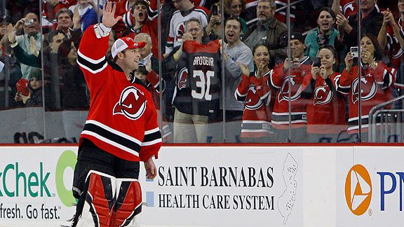 Martin Brodeur The Chase To 552 Nhl Espn