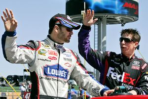 Jimmie Johnson & Denny Hamlin