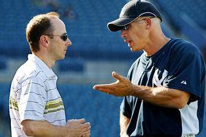 Joe Girardi Brian Cashman discuss Cliff Lee