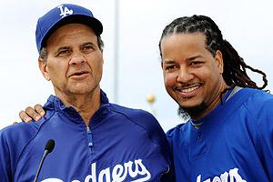 Joe Torre & Manny Ramirez