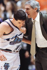 John Stockton and Jerry Sloan