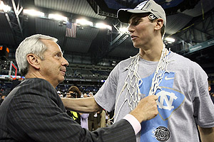 Tyler Hansbrough & Roy Williams