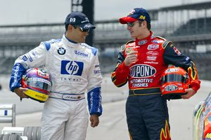 Jeff Gordon and Juan Pablo Montoya