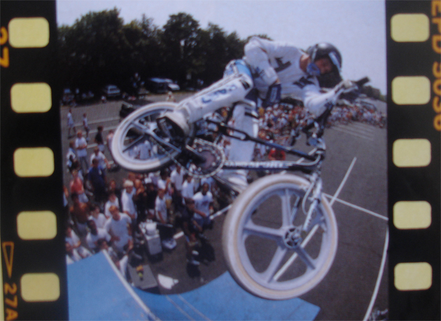 Jeremy Alder, barspin air lifted from the December '88 issue of Freestylin' Magazine. The photo is actually from the summer of '88 though.