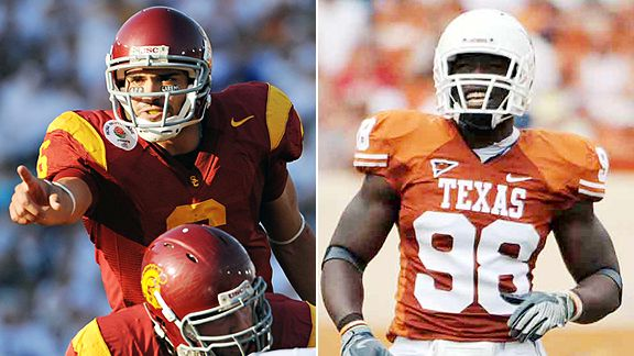 Mark Sanchez and Brian Orakpo