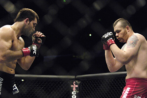 Andrei 'The Pitbull' Arlovski and Tim Sylvia
