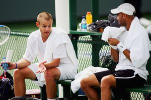 James Blake and Andy Roddick