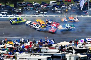 Talladega Crash