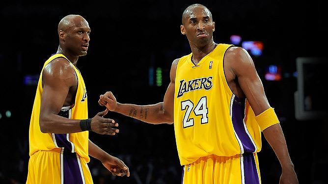 Kobe Bryant & Lamar Odom