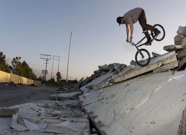 Nosepick on some industrial decay.