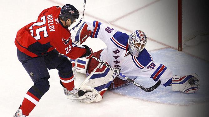 Rangers vs Capitals