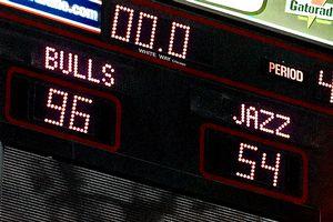 1998 NBA Finals Scoreboard