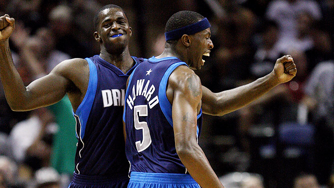 Josh Howard and Brandon Bass