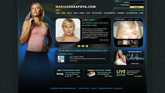 MariaSharapova.com