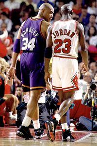 Michael Jordan & Charles Barkley