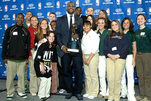 LeBron James & St. Vincent-ST. Mary High School Students