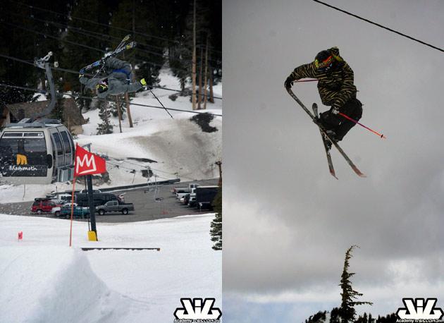 428edb39555d Cody Ling and Matt Walker demonstrate tail grabs.