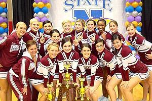 Cimarron-Memorial cheerleaders