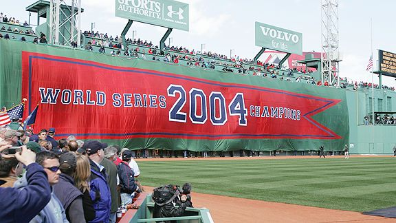 2004 World Series Banner