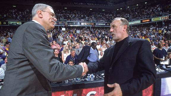 Phil Jackson and Rick Adelman