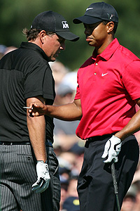 Phil Mickelson & Tiger Woods
