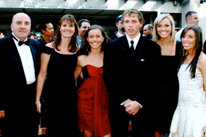 Patrick Kane and family