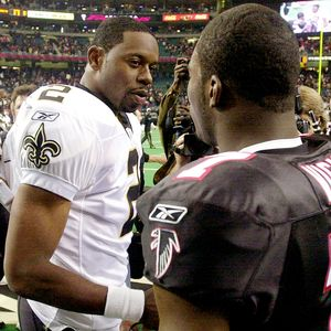 Michael Vick & Aaron Brooks