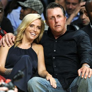 Phil Mickelson with beautiful, Wife Amy Mickelson