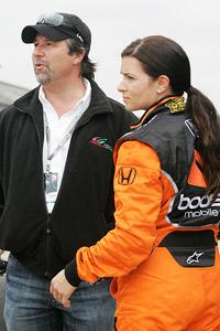 Michael Andretti and Danica Patrick