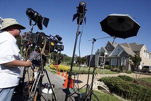 Media At Michael Vicks House