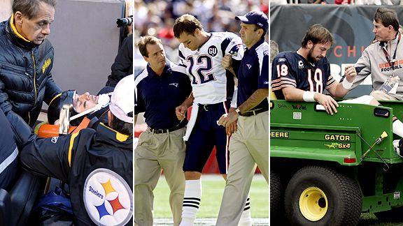 Ben Roethlisberger, Tom Brady, Kyle Orton