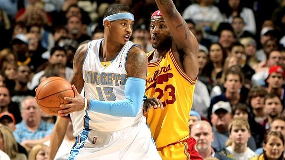 Carmelo Anthony & LeBron James