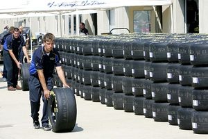 Goodyear Tire Stacks