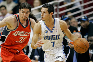 Adam Morrison and JJ Redick