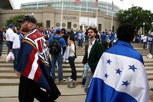 Honduras USA Fans