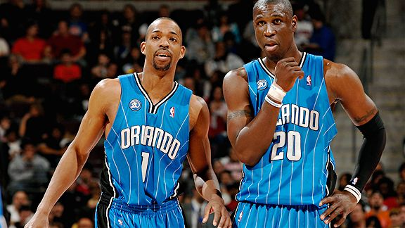 Rafer Alston and Mickael Pietrus