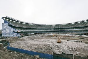 Shea Stadium Demolition