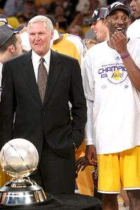 Jerry West and Kobe Bryant